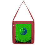 Load image into Gallery viewer, Indigo G Lime Green COLLECTION Classic Tote Bag - Indigo G