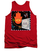 Load image into Gallery viewer, Festival Art Blotter  - Tank Top - Indigo G