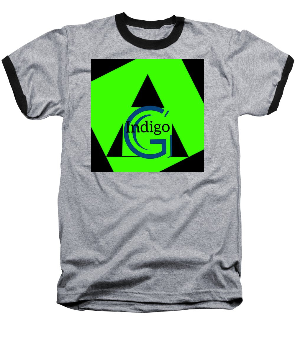 Green and Black Attack - Baseball T-Shirt