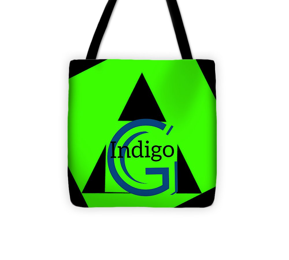 Green and Black Attack - Tote Bag