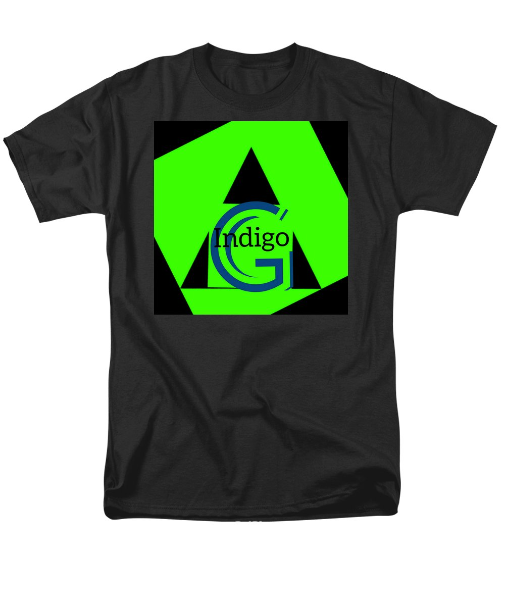 Green and Black Attack - Men's T-Shirt  (Regular Fit)