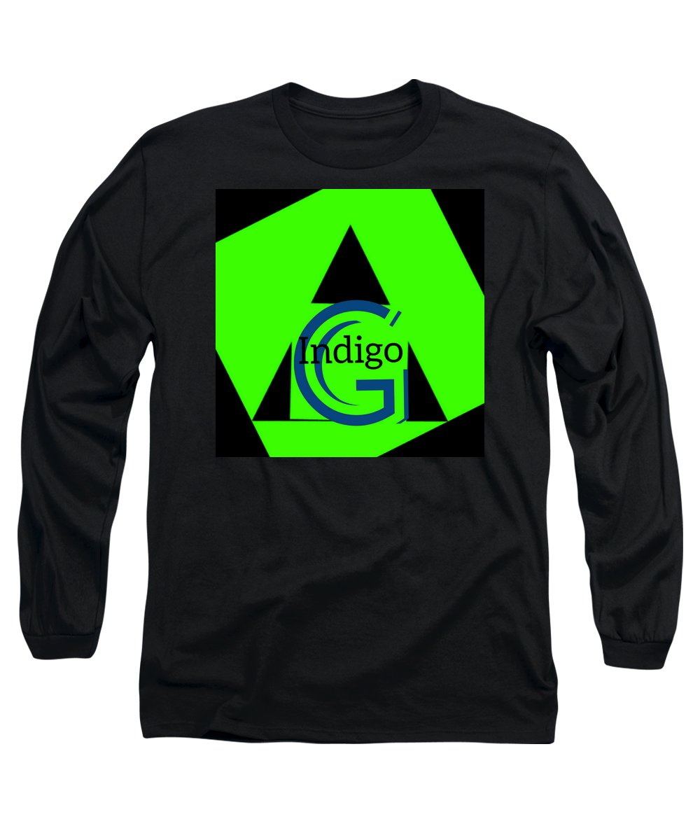 Green and Black Attack - Long Sleeve T-Shirt