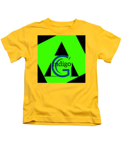 Green and Black Attack - Kids T-Shirt