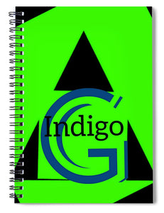 Green and Black Attack - Spiral Notebook