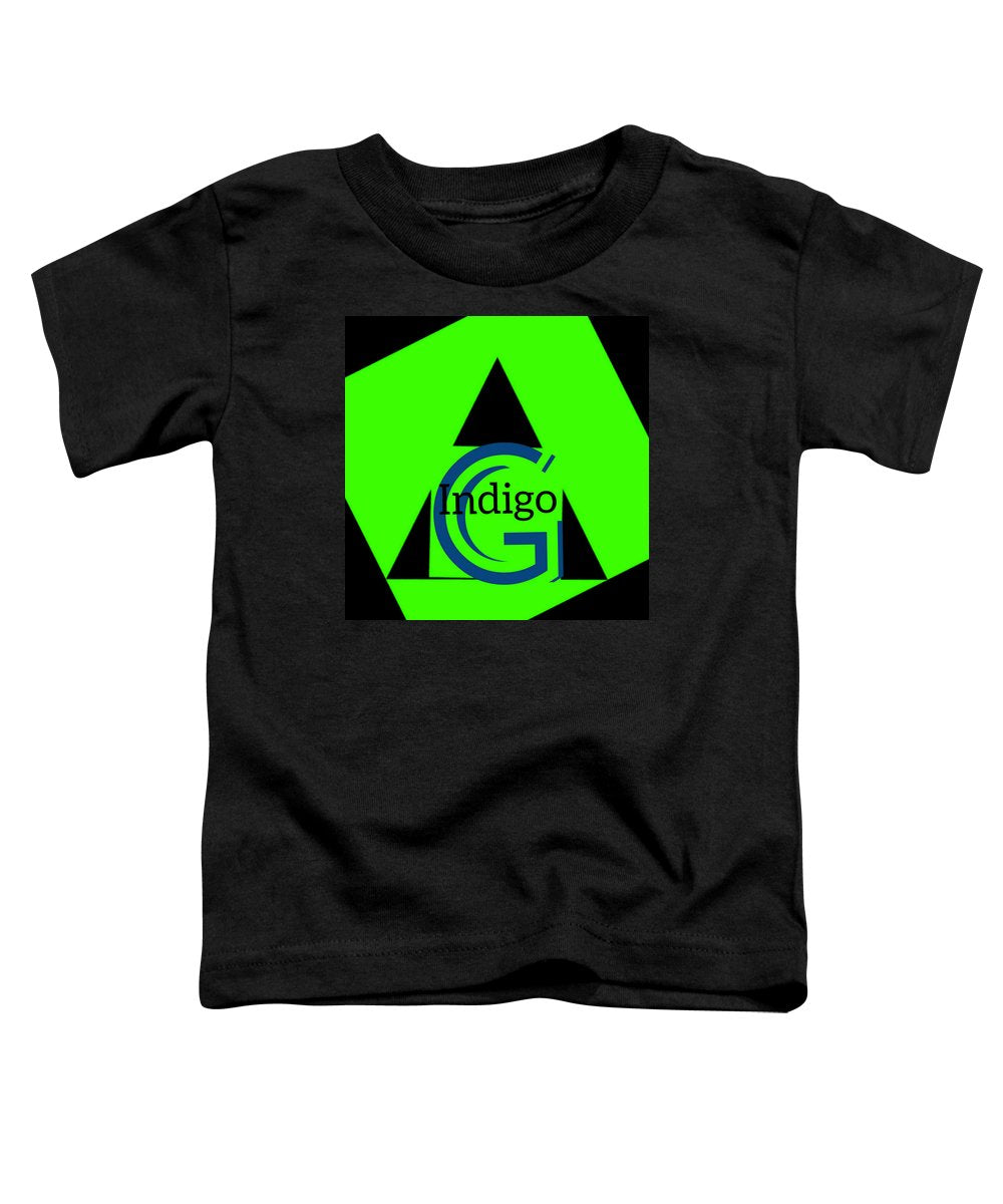 Green and Black Attack - Toddler T-Shirt