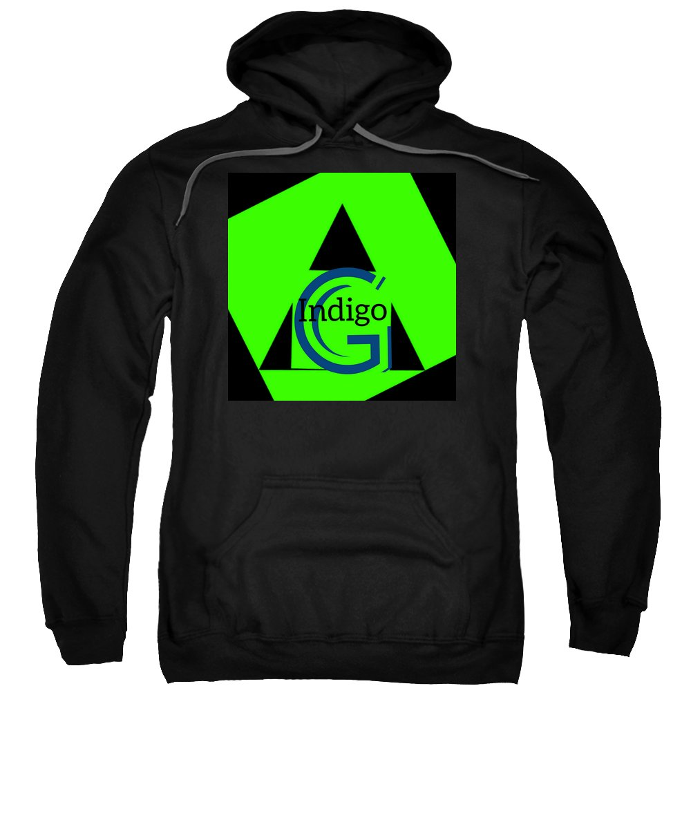 Green and Black Attack - Sweatshirt