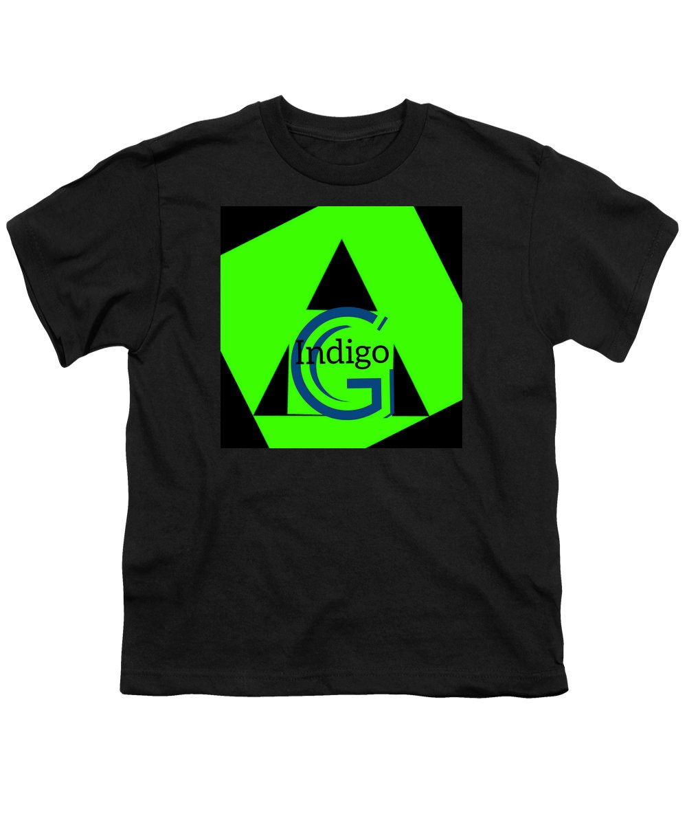 Green and Black Attack - Youth T-Shirt