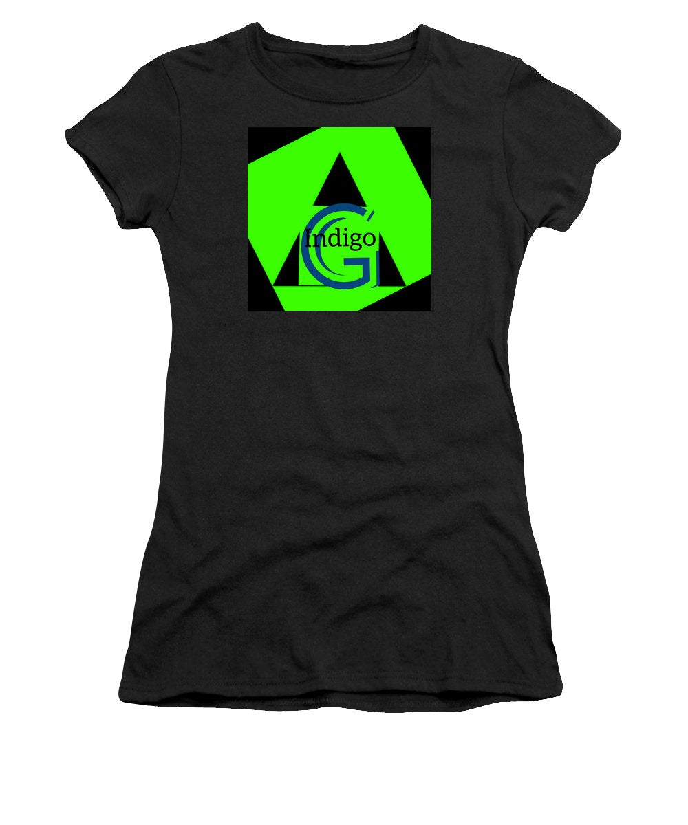 Green and Black Attack - Women's T-Shirt