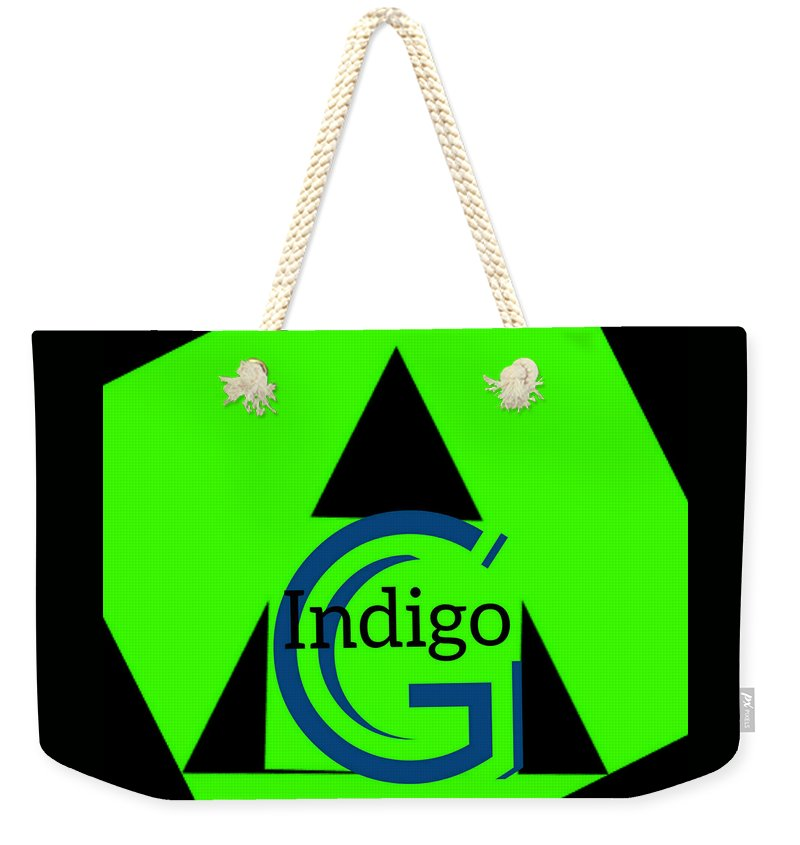 Green and Black Attack - Weekender Tote Bag