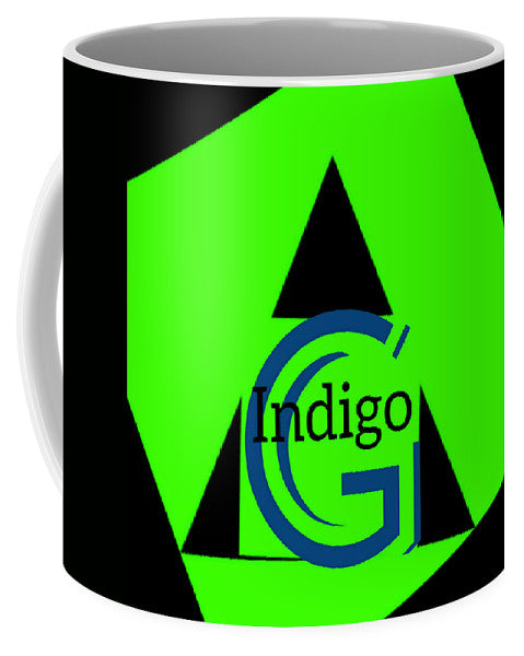 Green and Black Attack - Mug