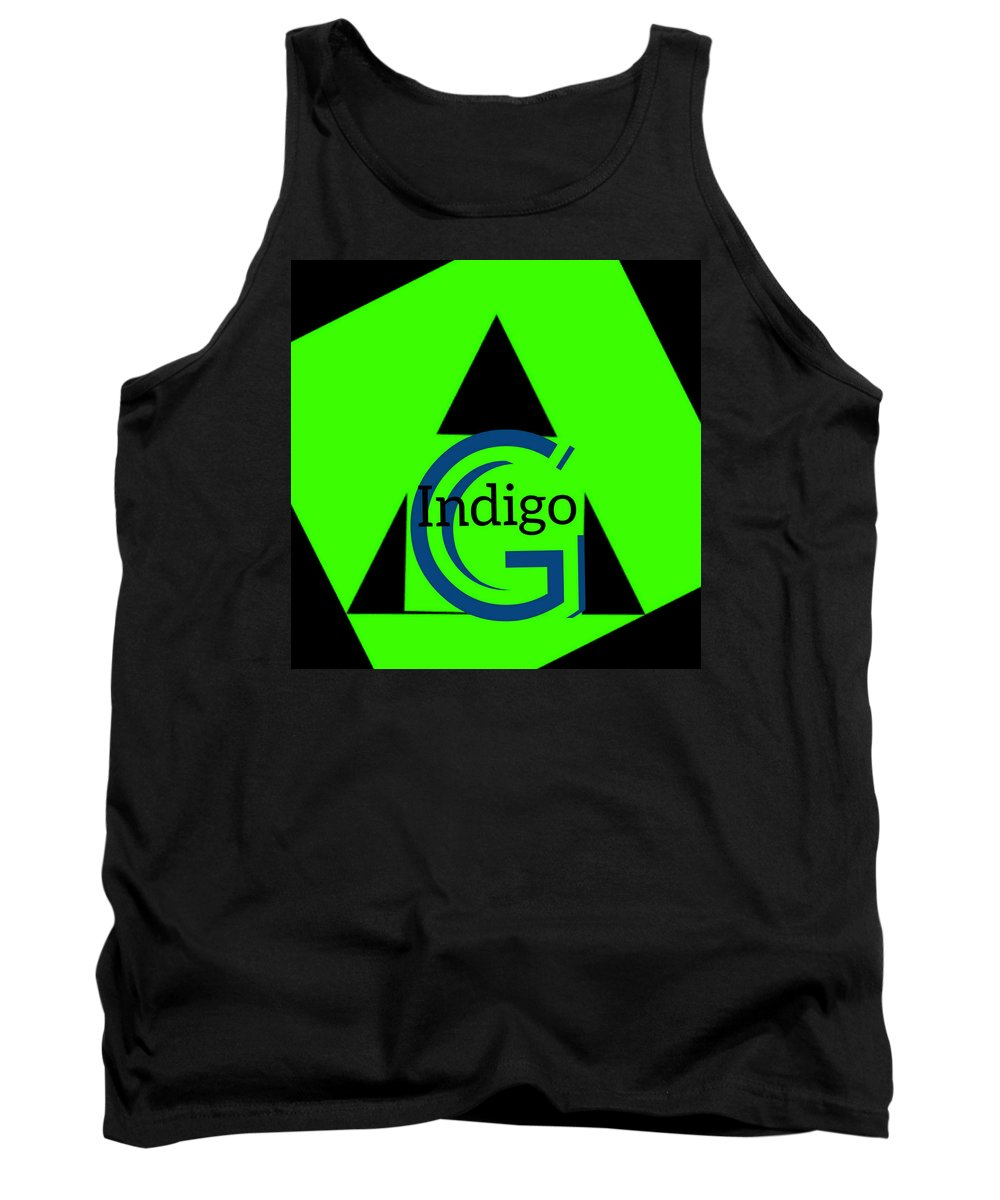 Green and Black Attack - Tank Top