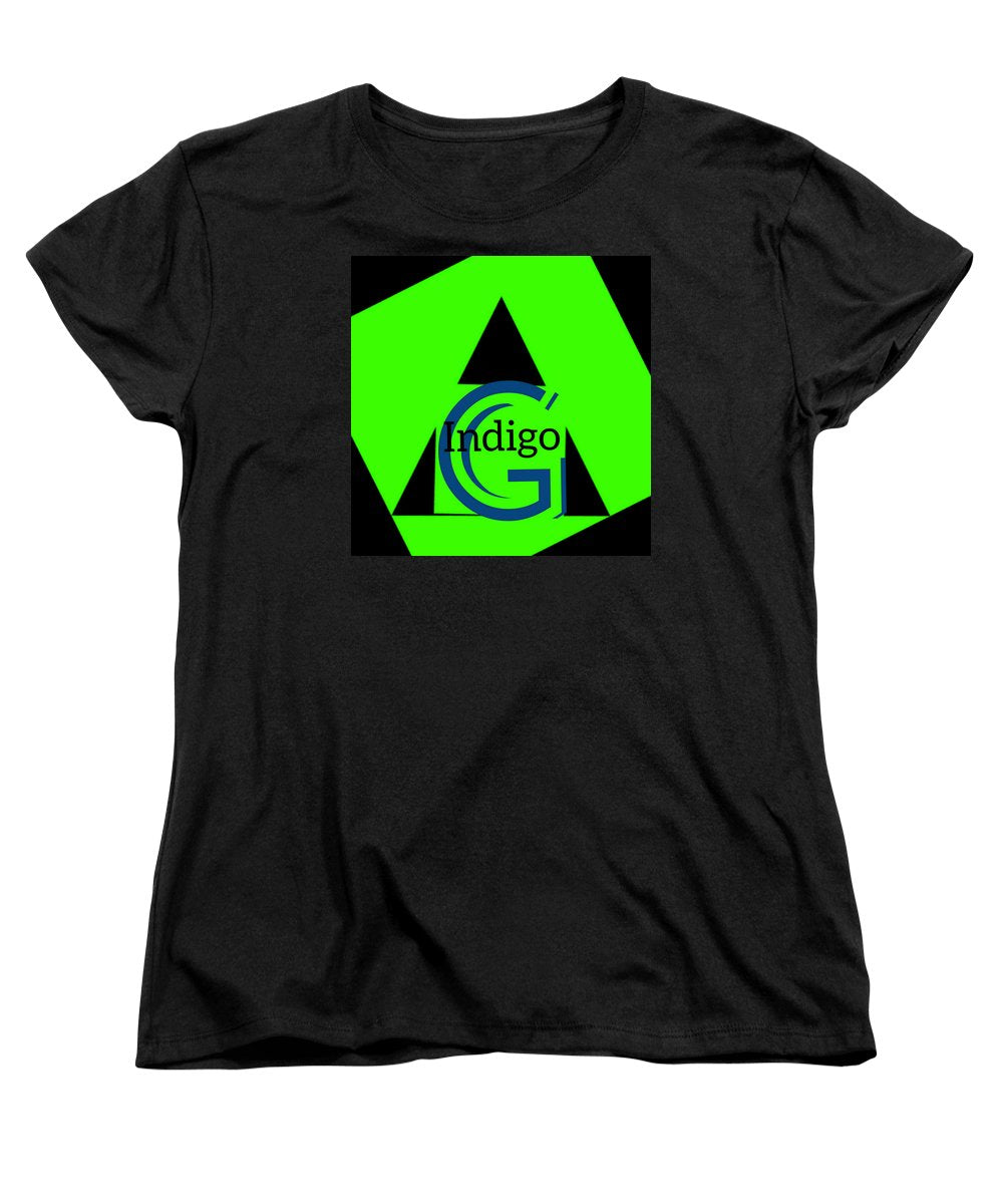 Green and Black Attack - Women's T-Shirt (Standard Fit)
