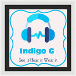 Load image into Gallery viewer, Headphones - Framed Print - Indigo G