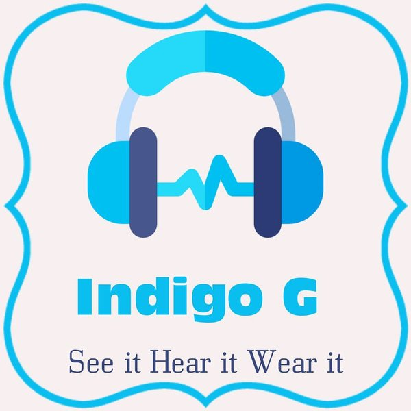 Headphones - Art Print - Indigo G