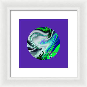 Liquid Cosmos - Framed Print