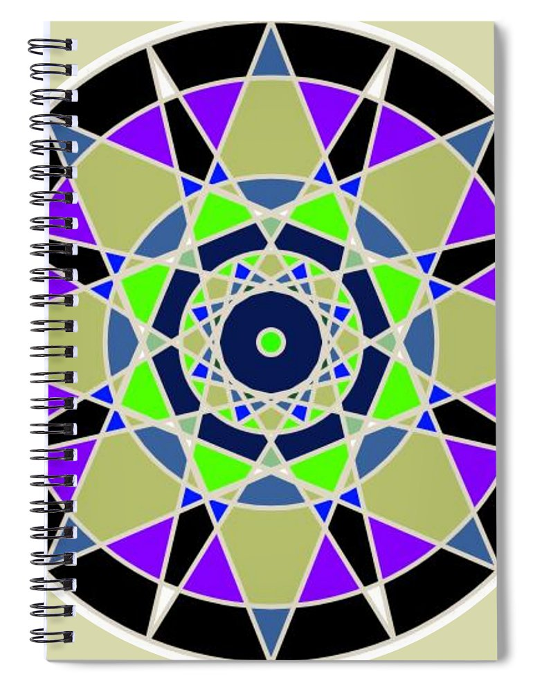 Lucky 7 - Spiral Notebook