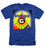 Load image into Gallery viewer, Orange Pyramid - Heathers T-Shirt - Indigo G