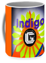 Load image into Gallery viewer, Orange Pyramid - Mug - Indigo G