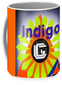 Orange Pyramid - Mug - Indigo G