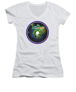 Pale Luna - Women's V-Neck