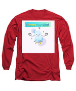 Load image into Gallery viewer, Paper Weight - Long Sleeve T-Shirt - Indigo G