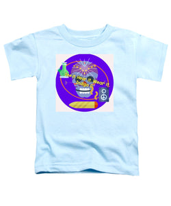 Peace Speakers - Toddler T-Shirt - Indigo G