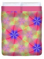 Load image into Gallery viewer, Peach Swirls - Duvet Cover