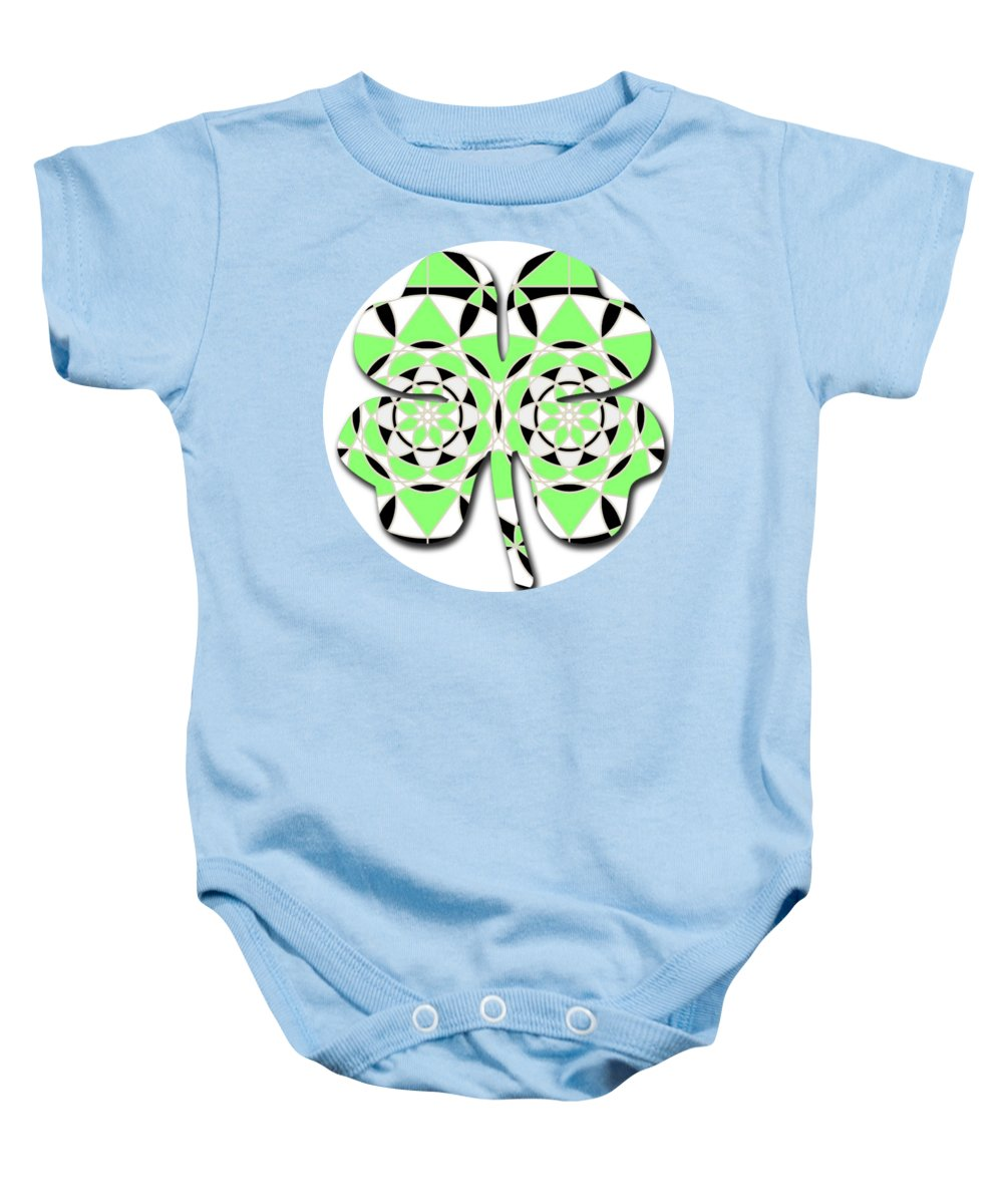 Petals and Stems - Baby Onesie