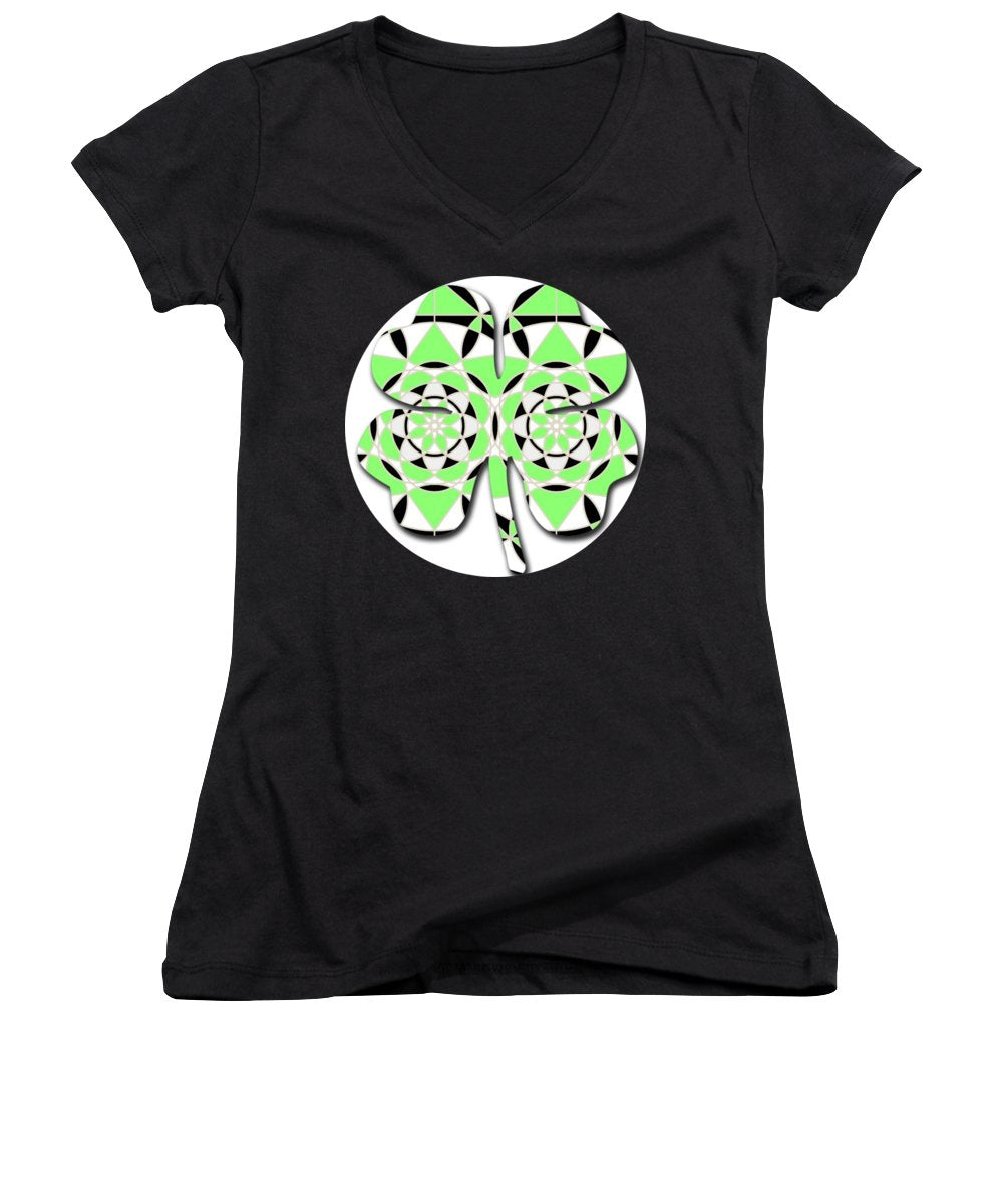 Petals and Stems - Women's V-Neck