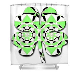 Petals and Stems - Shower Curtain