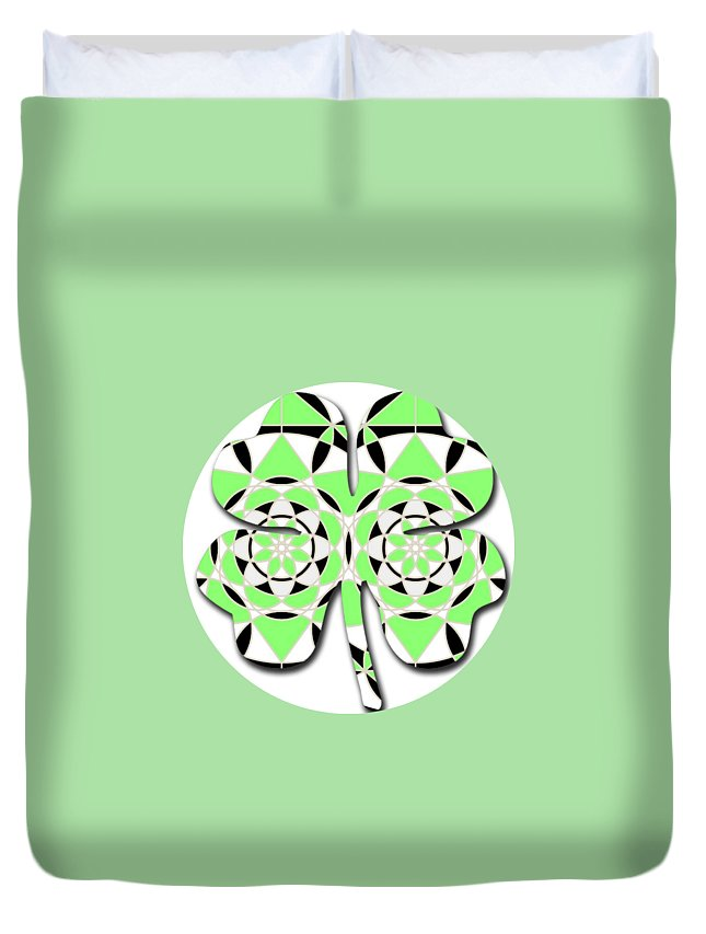 Petals and Stems - Duvet Cover