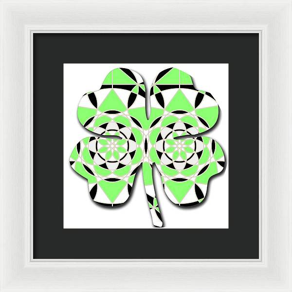 Petals and Stems - Framed Print