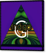 Load image into Gallery viewer, Purple Blotter - Canvas Print - Indigo G
