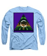 Load image into Gallery viewer, Purple Blotter - Long Sleeve T-Shirt - Indigo G