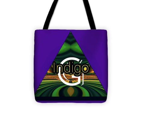 Purple Blotter - Tote Bag - Indigo G