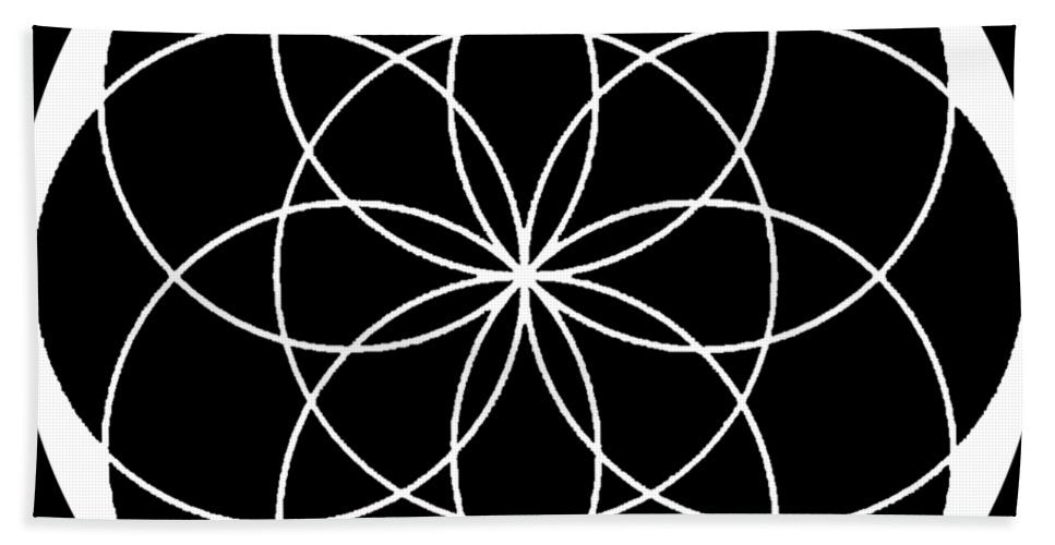 Seed of Life - Bath Towel