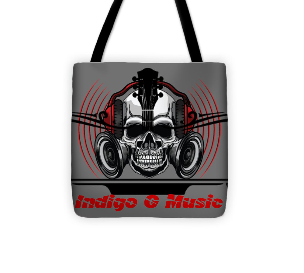 Skull Phones - Tote Bag