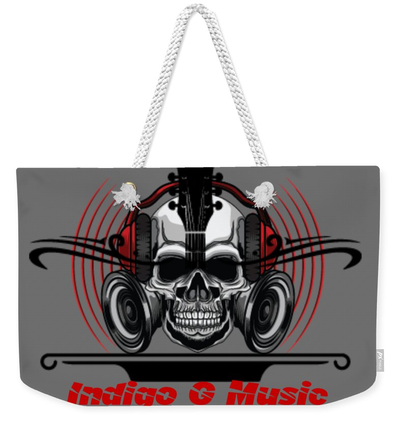 Skull Phones - Weekender Tote Bag