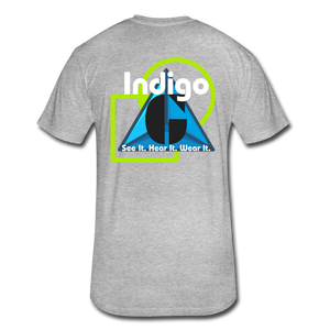 UFO - Fitted Cotton/Poly T-Shirt - Indigo G - Indigo G