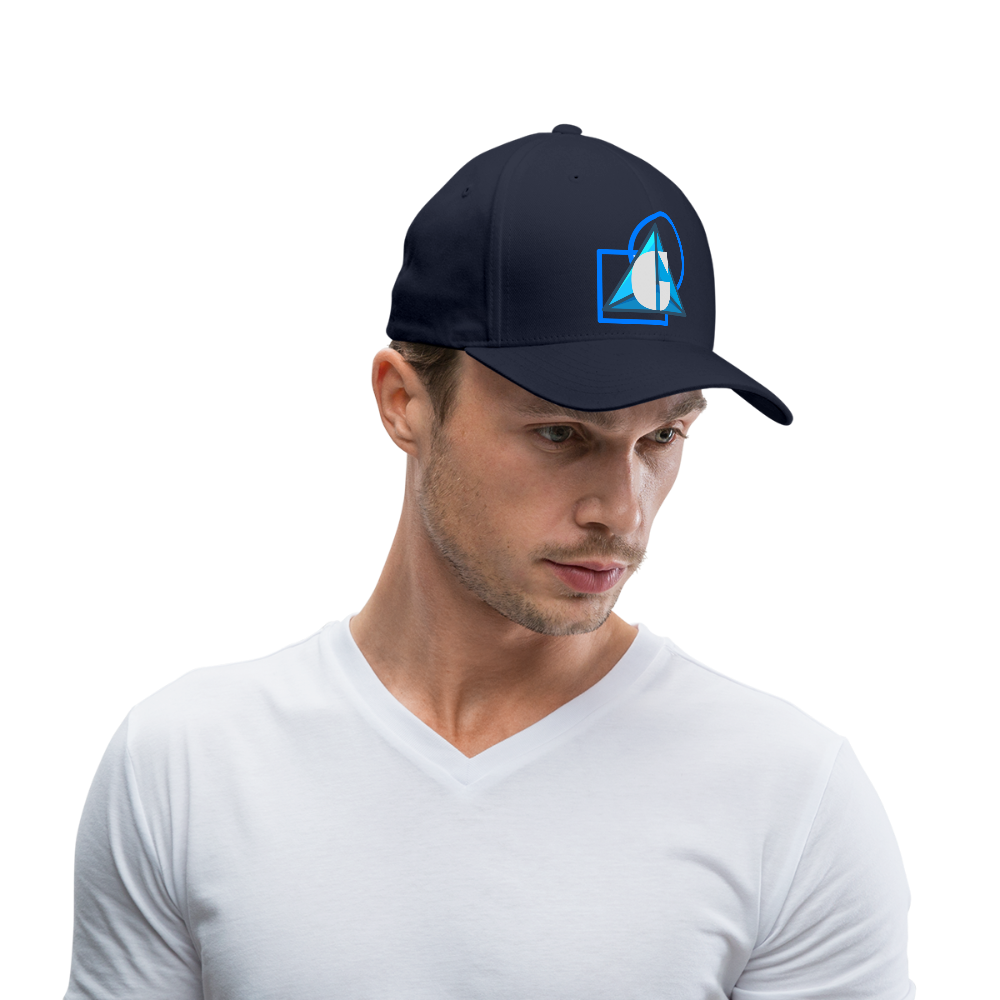 Blue Logo - Baseball Cap - navy