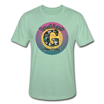 Load image into Gallery viewer, Sunset - Unisex Heather Prism T-Shirt - heather prism mint