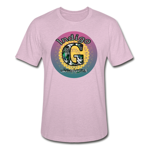Sunset - Unisex Heather Prism T-Shirt - heather prism lilac