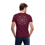 Load image into Gallery viewer, Seed Tears - Men's V-Neck T-Shirt by Canvas - maroon