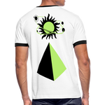 Load image into Gallery viewer, Men's Ringer T-Shirt - white/black