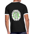 IGD 2 - Men's Ringer T-Shirt - black/white