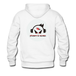 Load image into Gallery viewer, Music Face - Men's Premium Hoodie - white