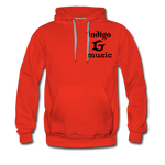 Load image into Gallery viewer, Music Face - Men's Premium Hoodie - red