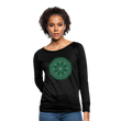 Evolving Seeds - Women's Crewneck Sweatshirt - black