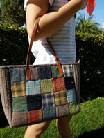 [Bag Pattern] Square Patch Bag