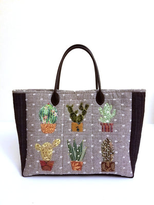 [Bag Pattern] Cactus Garden Bag